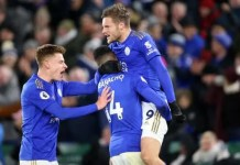 Leicester City 2 -1 Everton
