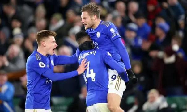Leicester City 2 -1 Everton