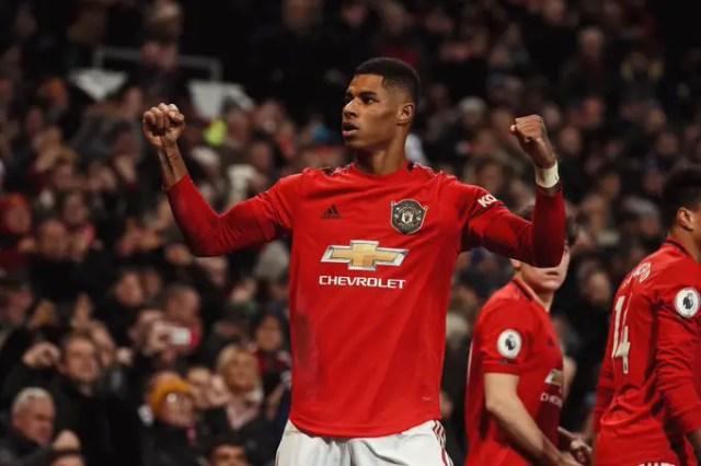Manchester United 2 - 1 Tottenham