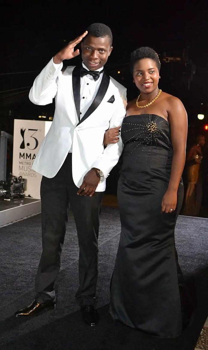 Mxolisi Majozi and Andiswa Gebashe