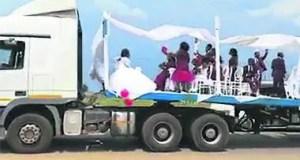 Truck wedding