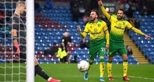 Burnley 1 - 2 Norwich