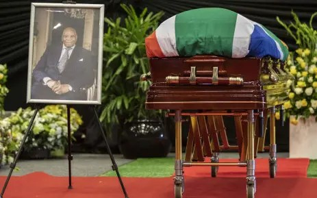 Dr Richard Maponya funeral service