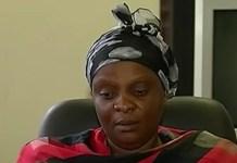 Enoch Mpianzi's mother