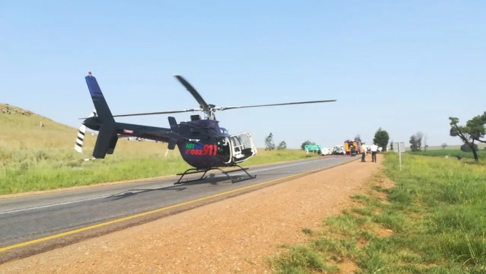 Four injured in Rustenburg head on collision