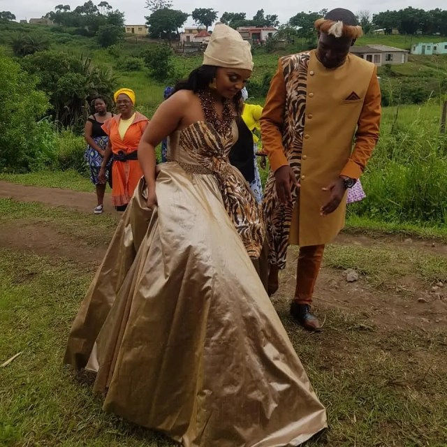 Lucky Generations: The Legacy Fans Tie The Knot In Mrekza & Lucy's Wedding Attires