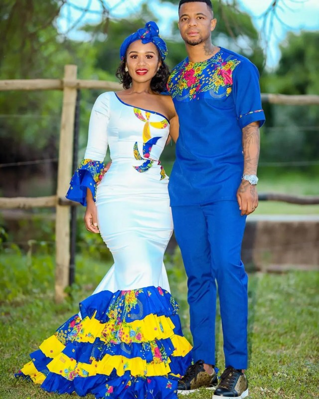 George Lebese and his wife Melba Nkosi