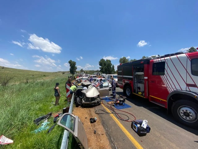 Helicopter airlifts seriously injured patient
