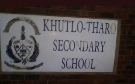 Khutlo Tharo Secondary School
