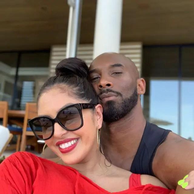 Kobe Bryant and Vanessa
