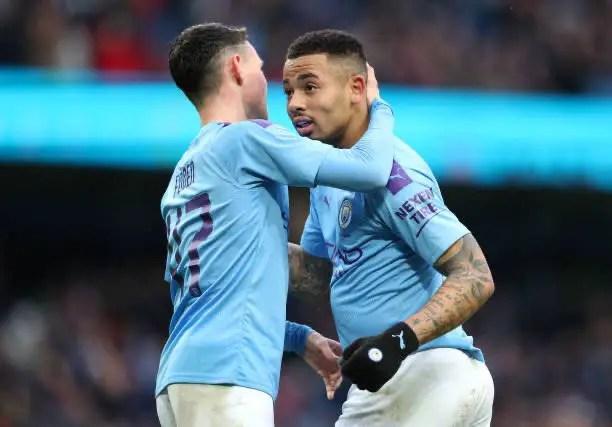 Manchester City 4 - 0 Fulham