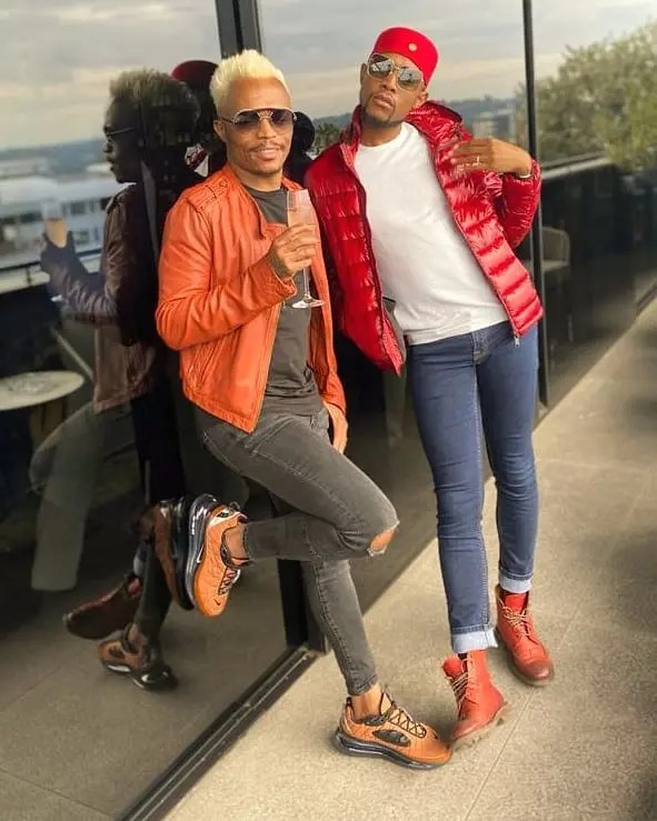 Mohale Motaung and Somizi
