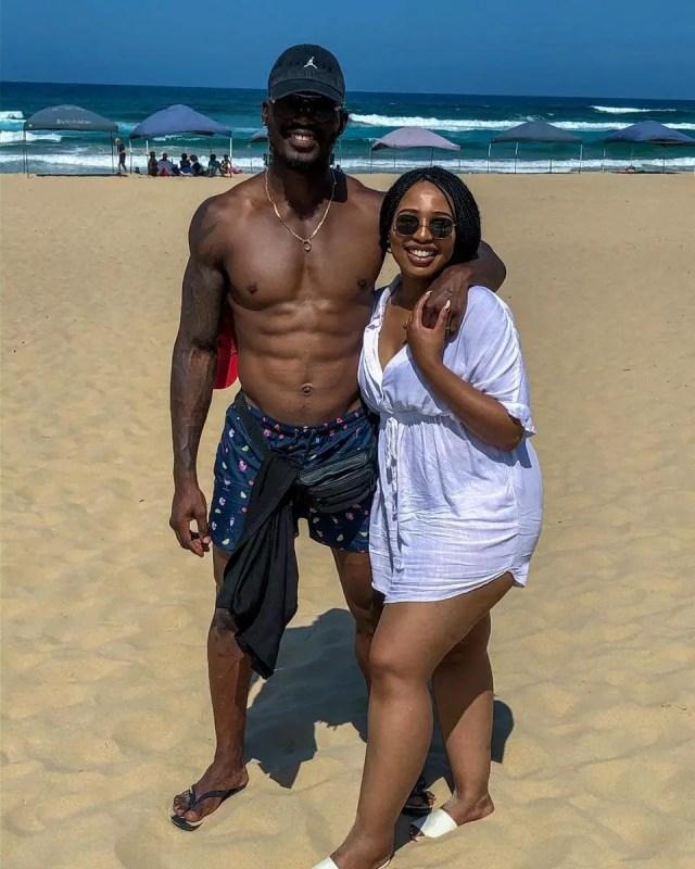 Phindile Gwala & Hubby