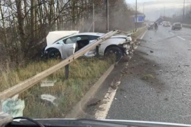 Sergio Romeru Lamborghini Accident