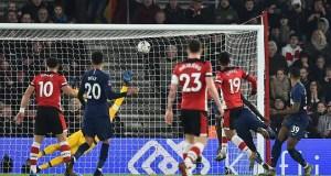 Southampton 1 - 1 Tottenham