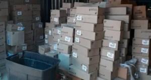 The stolen medical supplies