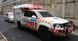 Worker seriously injured when truck tyre explodes in his face
