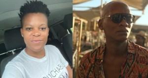 Zodwa Wabantu & actor Warren Masemola