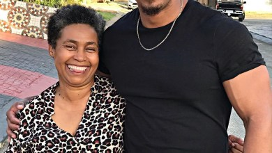 Cedric Fourie and his Beautiful Mother
