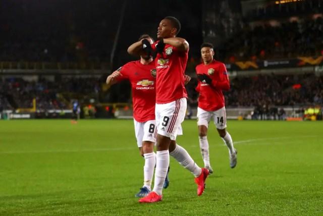Club Bruges 1 - 1 Manchester United