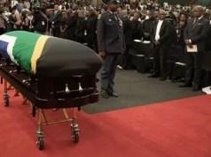 Joseph Shabalala funeral service