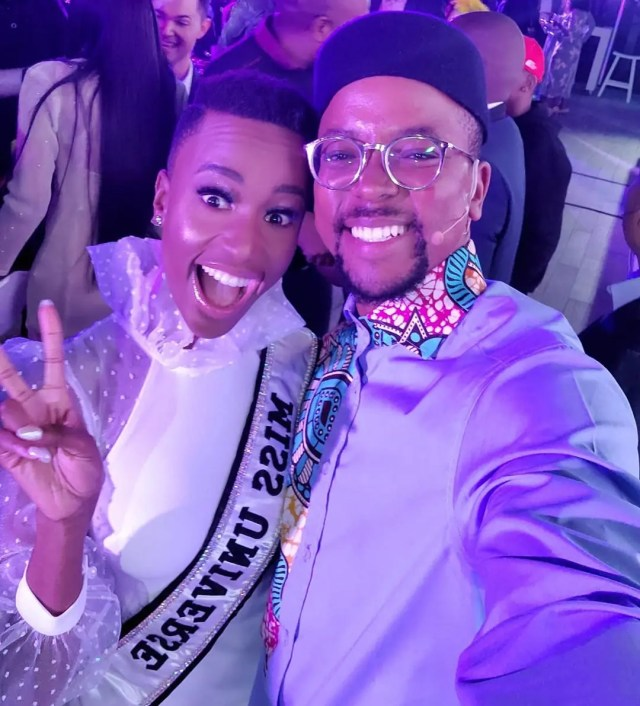 Maps Maponyane and Zozibini Tunzi