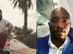 Mmusi Maimane and Cassper Nyovest