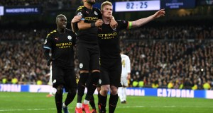 Real Madrid 1 - 2 Manchester City