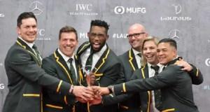 Springboks Laureus Award