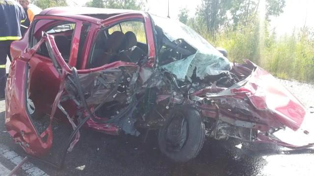 Three killed in Krugersdorp crash