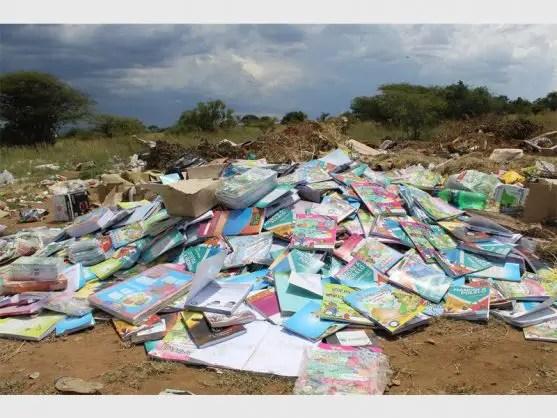 dumped books