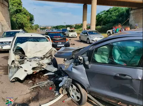 head-on accident