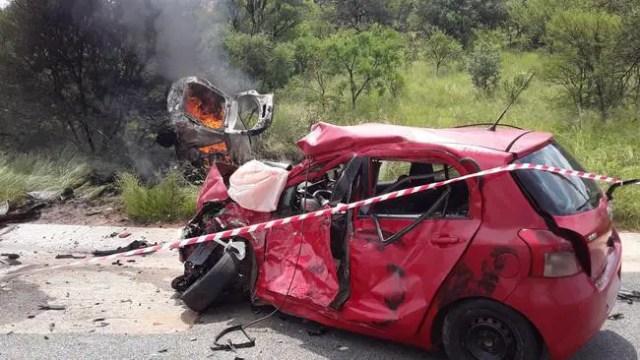 horrific Limpopo car crash