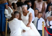 Photo of Twitter in love with Amanda and Kabelo's beautiful wedding #OurPerfectWedding