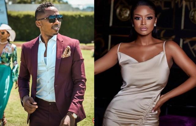Ayanda Thabethe and Andile Ncube