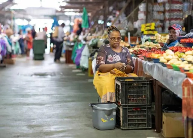 Cape Town informal traders