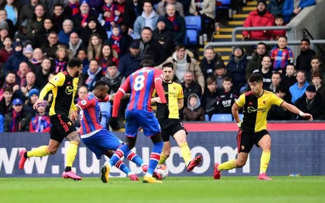 Crystal Palace 1- 0 Watford