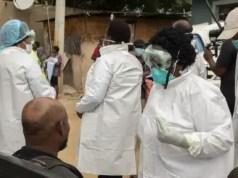 Gauteng healthcare workers screening Alexandra residents for coronavirus