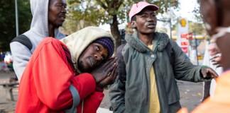 Joburg homeless