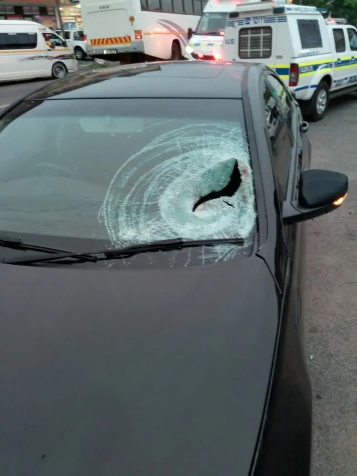 Man left in critical condition after being struck by car while crossing the road
