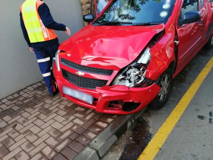 Multiple vehicle collision in Roodepoort injuries sixteen
