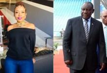 Photo of Ntsiki Mazwai's letter to President Cyril Ramaphosa shocks Mzansi
