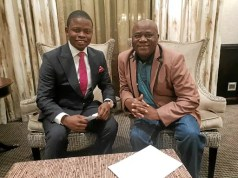 Prophet Bushiri and Solly Moholo