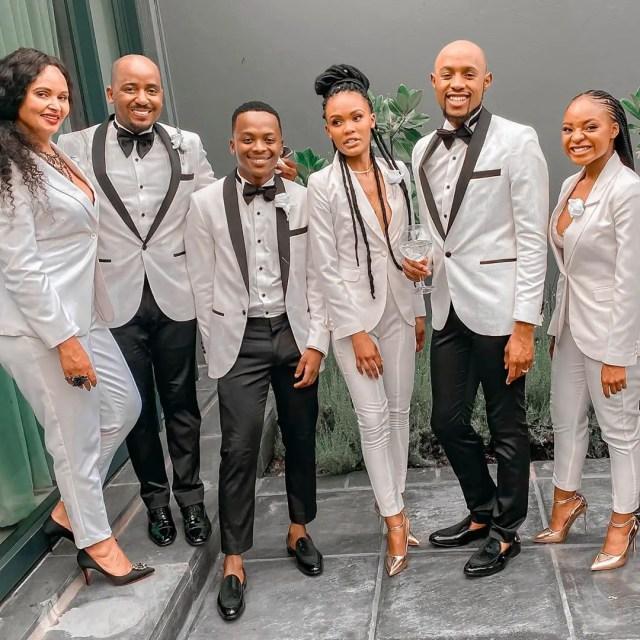 Somizi Mhlongo and Mohale Motaung wedding things