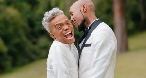 Somizi Mhlongo and Mohale Motaung
