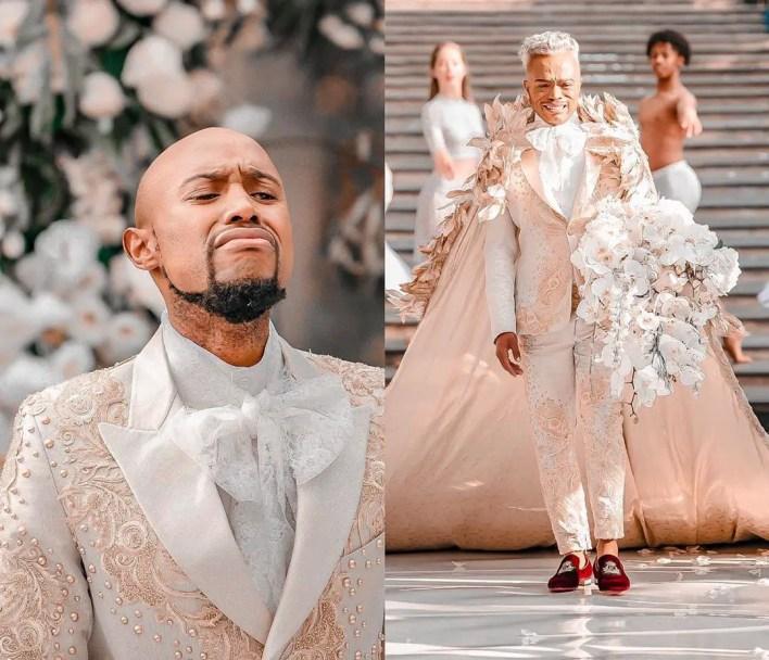 Somizi & Mohale's white wedding