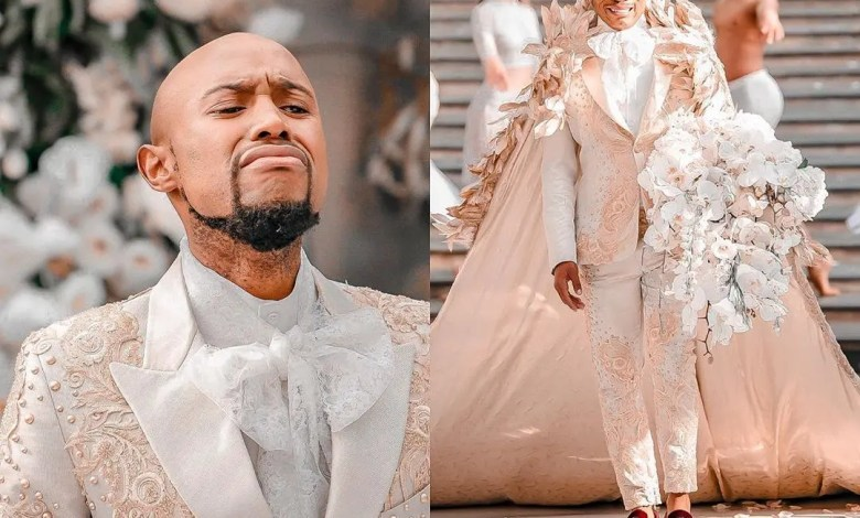 Somizi & Mohale's white wedding