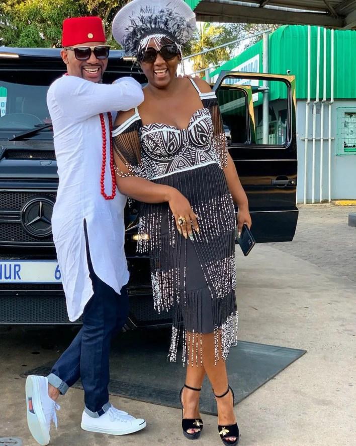 Tha Simelane and Shauwn Mkhize