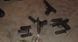 illegal firearms and bullets