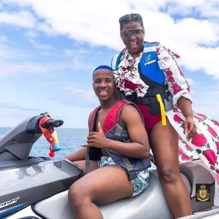 Andile Mpisane and Shauwn Mkhize